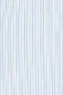 Non-iron White&Blue Pencil Stripe 100% Cotton A04044-1611093-1
