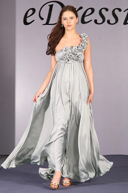 eDressit Elegant Single Rose Shoulder Evening Dress (00093035)