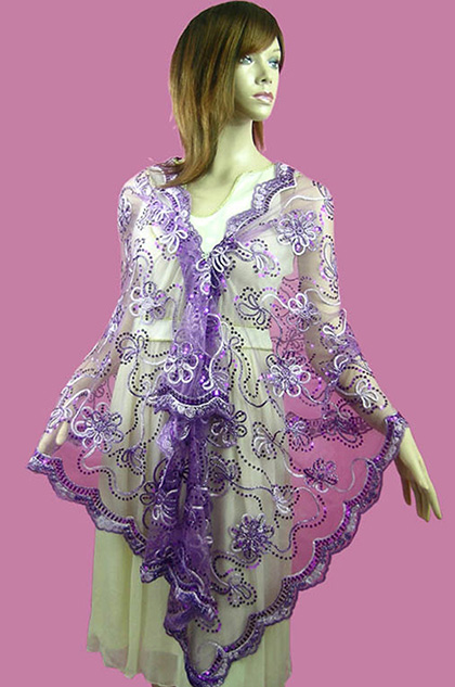 eDressit Purple Shawl/Wrapa/Bolero (14210206)