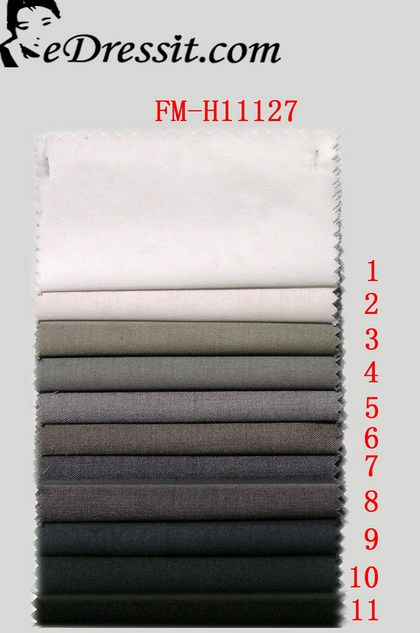 eDressit Suit fabric ( 30 % Wollens,70 % Terylene ) (FM-H11127)