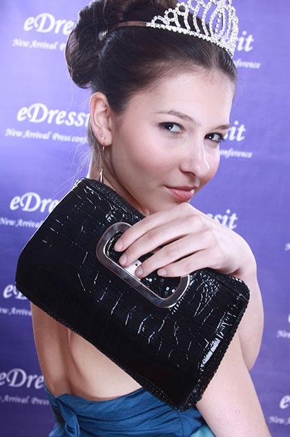 eDressit  Schwarz auren-Handtasche/Portemonnaie (08091000)