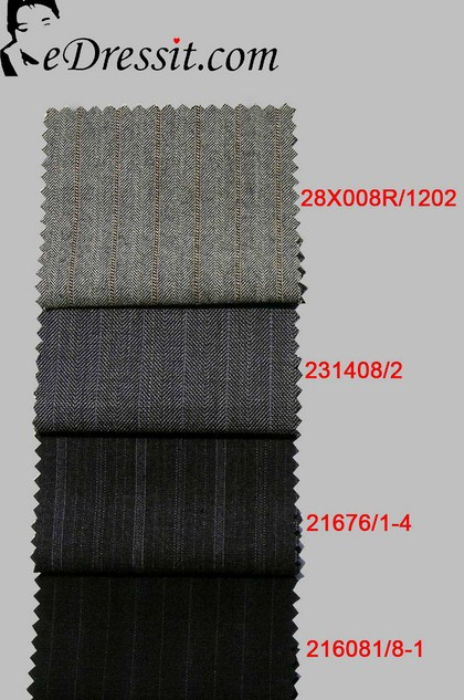 eDressit Suit fabric 100% Wollen (TD-1)