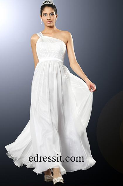 eDressit Elegant Single Shoulder Evening Dress (00094107)