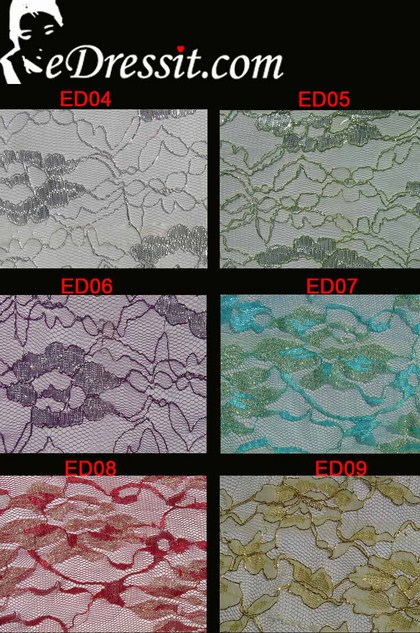 eDressit Lace Fabric (EDlace-4)