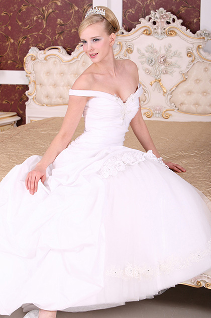 eDressit Amazing Off shoulder Wedding Dress (01101007)
