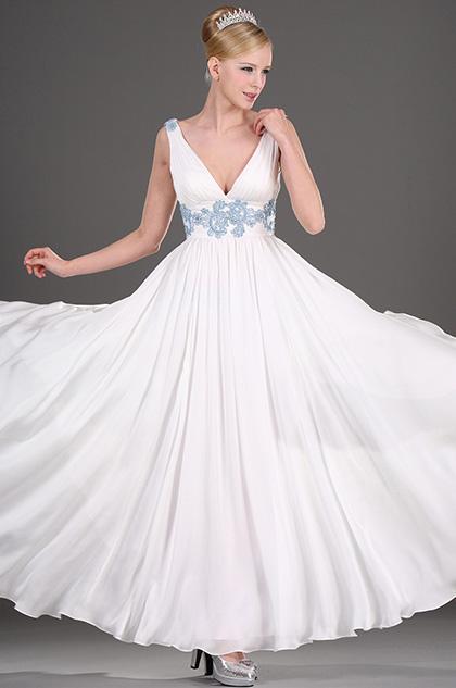 eDressit Elegant V-cut Soiree Robe (00101807)