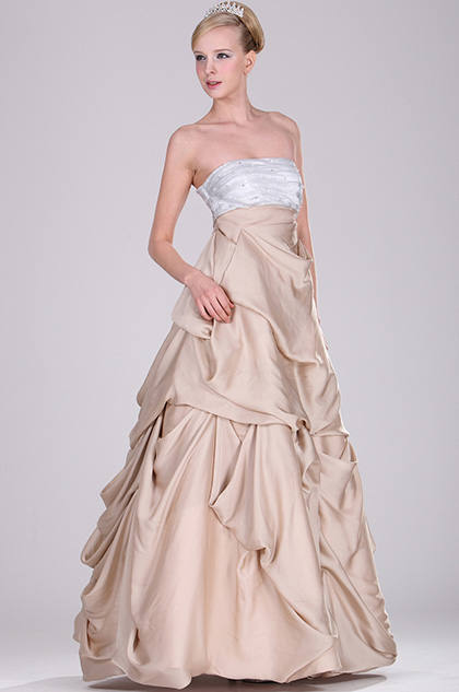 eDressit Strapless Elegant Evening Gown (28101014)