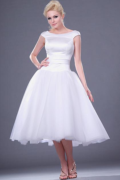 eDressit Новое белое свадебное платье (01110107)