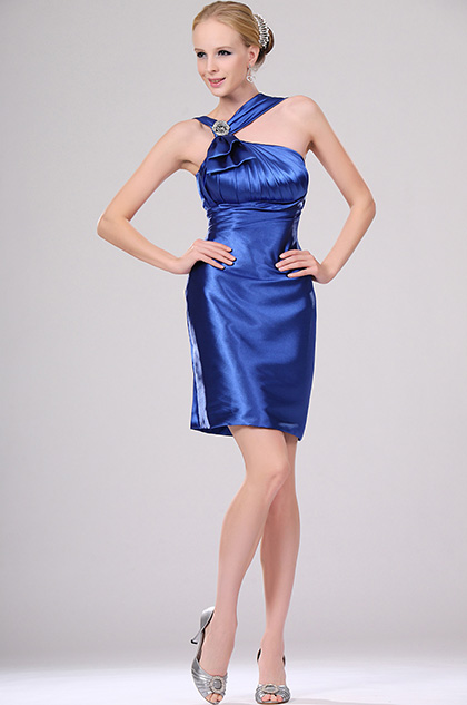 eDressit Stylish Bleu Cocktail Soiree Robe (04110105)