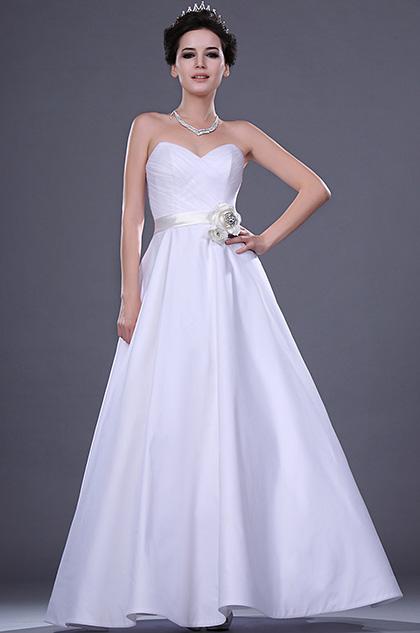 eDressit Новое свадебное платье с атласной розавый  пояс (01110207)