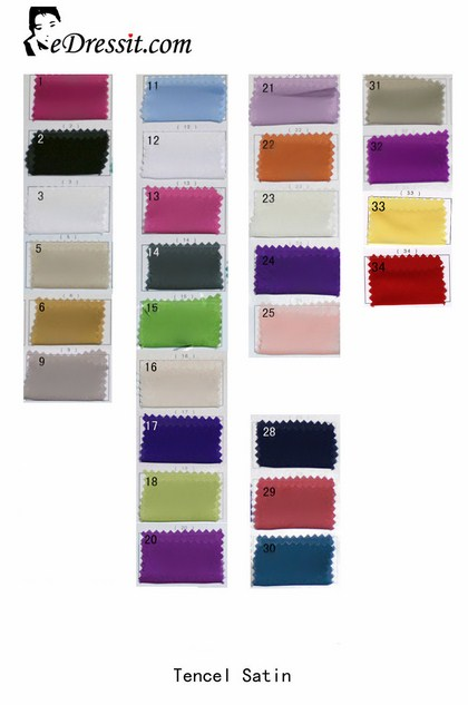 eDressit Tencel Satin Color Chart (64100101A)