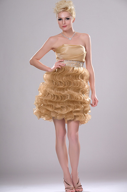eDressit New Style Adoral Strapless Party Dress with Multiple Layers (04112514)