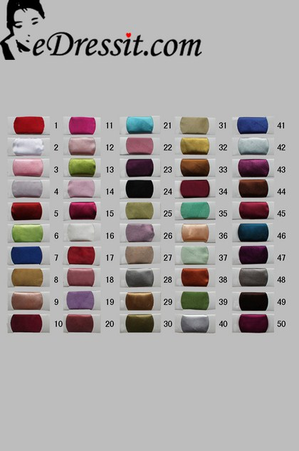 eDressit Shiny Heavy Satin Color Chart (04090805D)