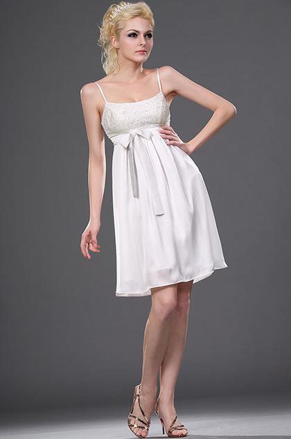 eDressit Новое обжалование белое коктейльное платье (04110607)