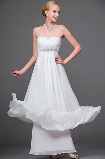 eDressit New Elegant Beaded Strapless Evening Gown (00111607)