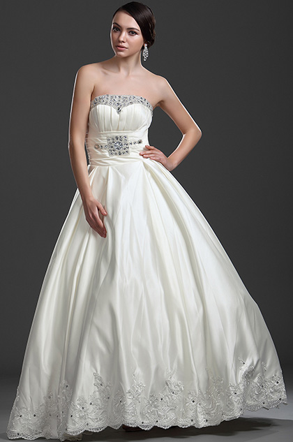 eDressit New Collection Marvelous Strapless Wedding Gown (01114213)