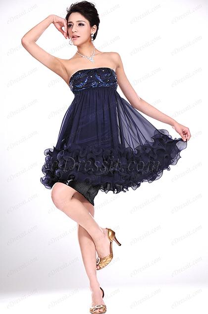 eDressit  New Adoral Strapless Cocktail Dress (04115805)