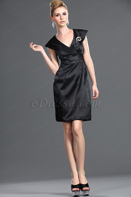 eDressit New Stylish Little Black Dress (03113000)