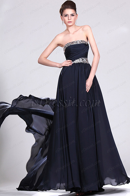 eDressit New Strapless Sequins Evening Dress (00119505)