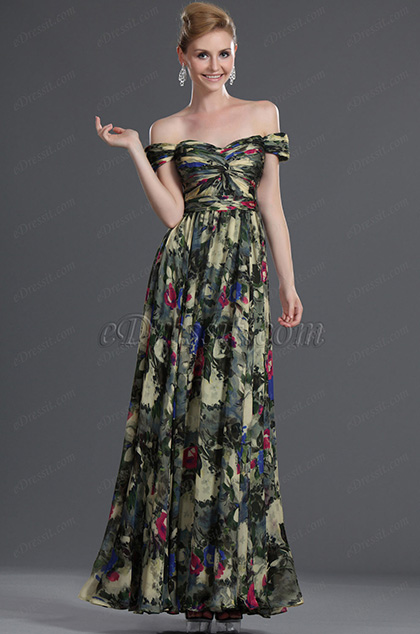 eDressit New Charming Off Shoulder 100% silk Evening Dress (00090768)