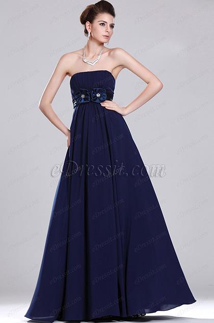 eDressit New Simple Elegant Strapless Evening Dress (00117805)