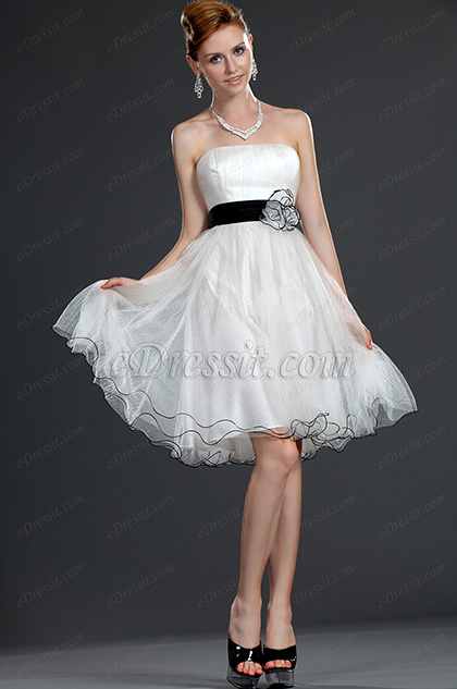 eDressit New Fabulous Strapless Party Dress (04117507)