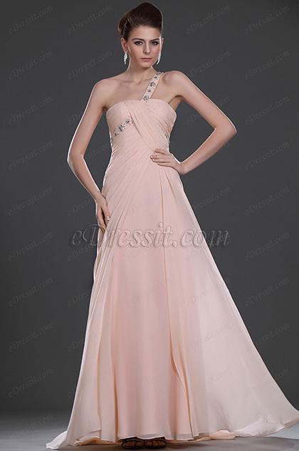 eDressit New Brilliant Single Shoulder Evening Dress (00104001)