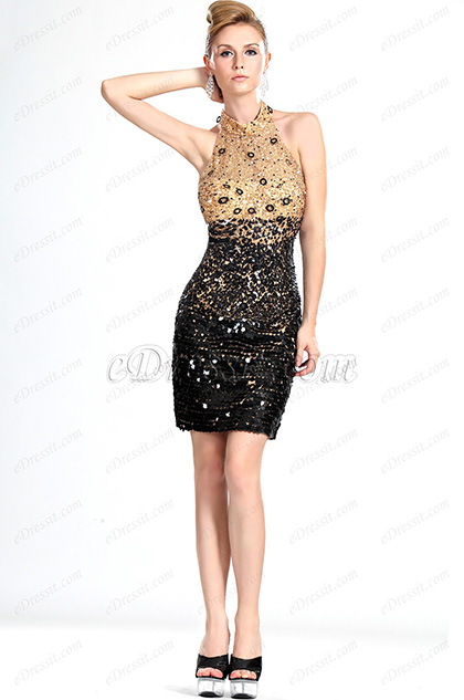 eDressit Neue Wunderbares Halfter Ballkleid Abendkleid mit Schal (35111400)