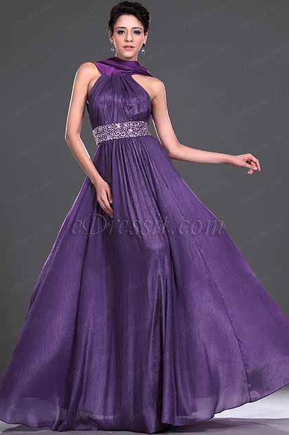 eDressit  New Style Sexy Purple Evening Dress Prom Dress (02112106)