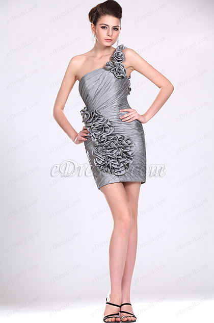 eDressit New Shiny One Shoulder Party Dress (04116108)