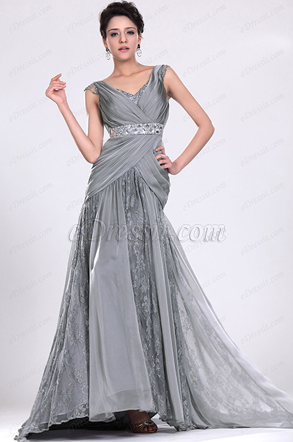 eDressit New Alluring V-cut Evening Dress Prom Dress (02111408)
