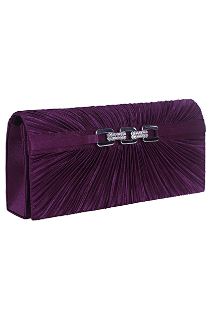 Fashion Purple Handbag /Purse (08110506)