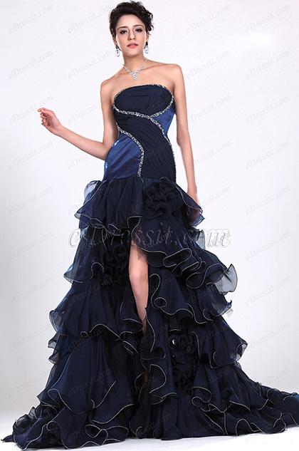 eDressit  Atractivo Sin tirante Vestido de Noche (02111105)