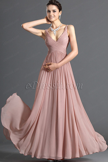 eDressit Elegant V-cut Evening Dress (00120801)