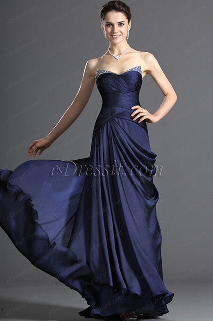 eDressit Sweety Strapless Evening Dress Party Dress (00121005)
