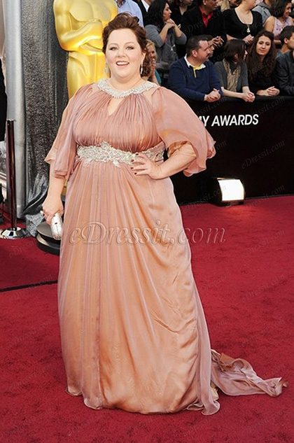 eDressit Custom-made Melissa McCarthy 84th Oscar Awards Dress (cm1229)