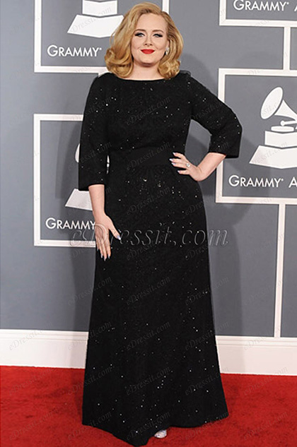 eDressit Custom-made Adele Grammy Awards Dress (cm1202)