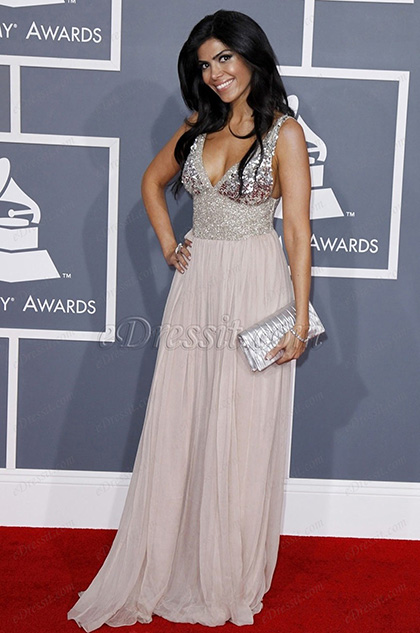 eDressit Custom-made Sheila Shah Grammy Awards Dress (cm1210)