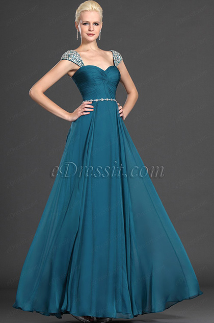 Alluring Blue Dress 25