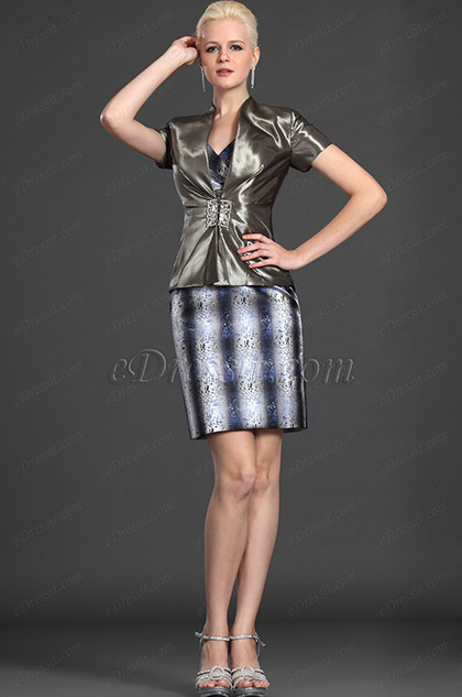 eDressit Elegant Two Pieces Mother of the Bride Dress (26122268)