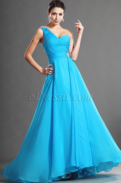 eDressit Fabulous One Shoulder Evening Dress (36120605)