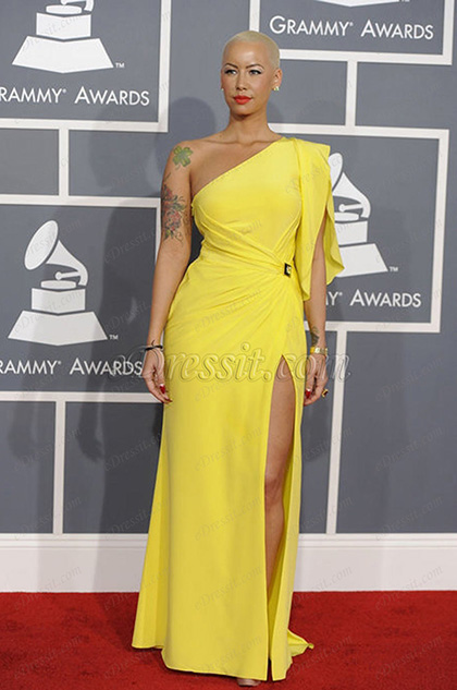 eDressit по заказу Amber Rose Grammy  церемония нагараждения  платье (cm1203)