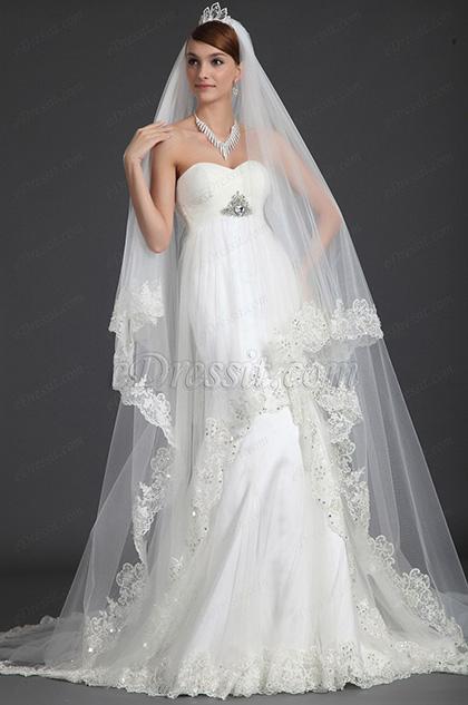 eDressit 2012 новое милое свадебное платье с бисером (01121107)