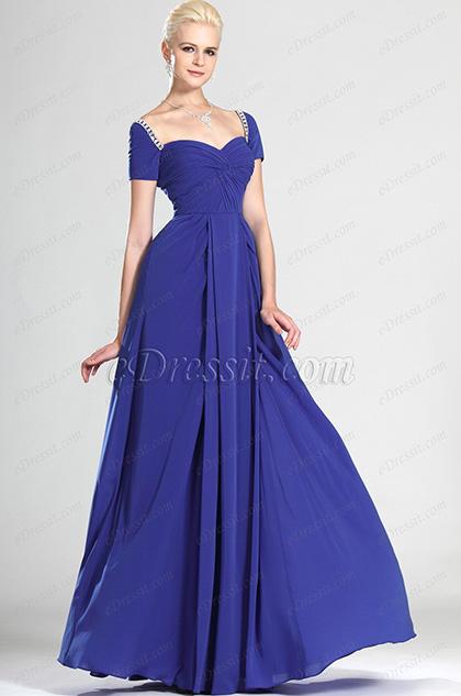 eDressit  вечернее платье  и короткие рукава (00124505)