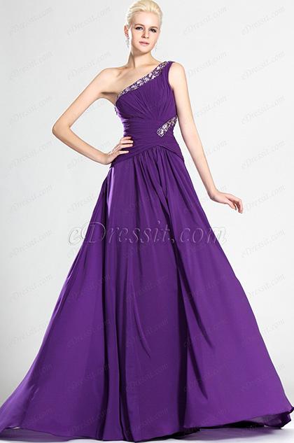 eDressit Bretelle unique Robe de Gala Aguichante (00123506)