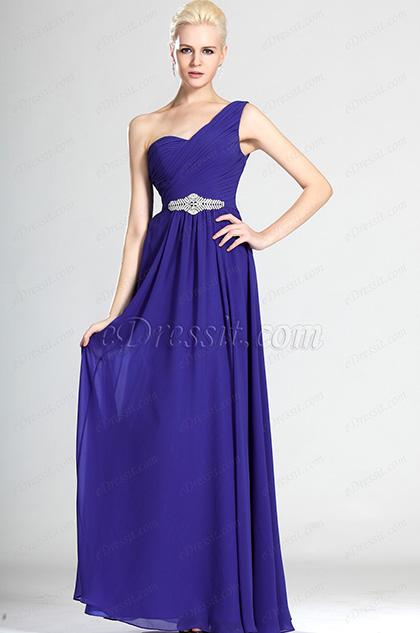 eDressit Robe de Soirée Romantique avec Décoration argent (00125105)