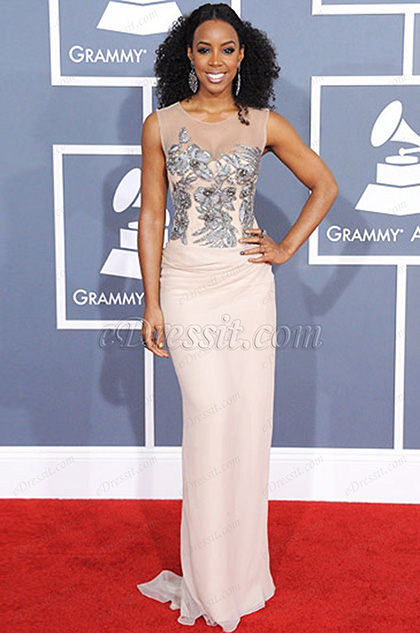 eDressit Custom-made Kelly Rowland Grammy Awards Dress (02122813a)