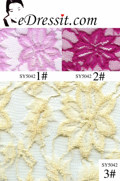eDressit Lace Fabric (SY5042)