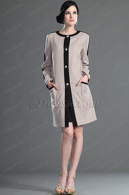 eDressit 2012 новое стильное платье и длинные рукава (03123214)