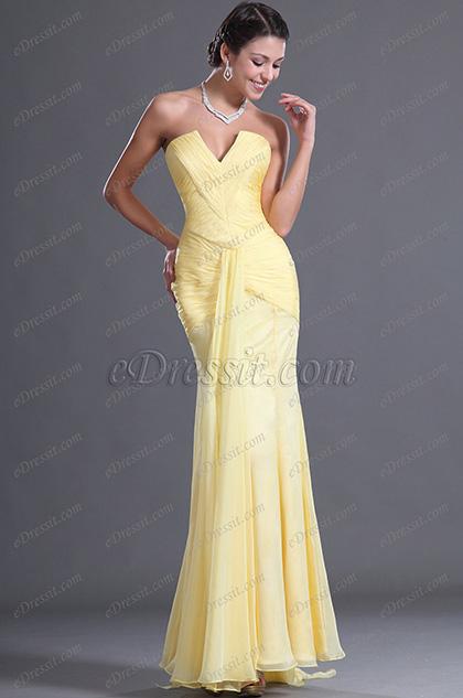 eDressit  Sexy V Ausschnitt Reizend Geld Abendkleid (W00128203)